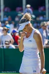 Wimbledon Tennis Championship 2015 - Kristyna Plisova (CZE) (Sacha Alleyne) Tags: grass ball tennis racket grandslam lta womenstennis grasscourt tourament lawntennisassociation a6000 court6 sonya6000 wimbledon2015