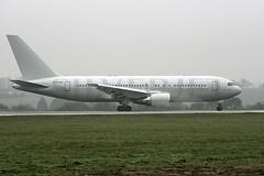 G-SJET Boeing B767 LTN 20Feb2007 (Citation Ten) Tags: b767 sjt ltn gsjet