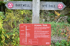 On the Monsal Trail (Tony Worrall) Tags: north visit area county attraction open stream tour country northern bakewell sign signage path way trail monsaltrail derbys railway travel tracks walkway derbyshire peak district info information