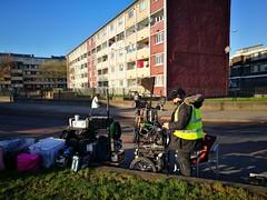 Shooting Red Rock Season 3 (Mark Waldron) Tags: filming location red rock season 3 pimlico dublin ireland sound cart