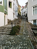 """""""Narrow street"""" (Terje Helberg Photography) Tags: citylife cityscape citywalk cobbelstone leadinglines narrowstreet railing rails reflection street streetlife urban color outdoor outside stairs lines narrow steep stepp"""
