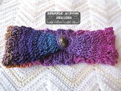MessyBunHeadWrap Rainbow01b (zreekee) Tags: crochet sparkledoomdesigns rainbow crochetrend messybun headwrap