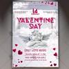 Valentine Day – Premium Flyer PSD Template (psdmarket) Tags: club dj february flyer heart love loveday loveflyer modern night party valentine valentines valentinesday valentinesflyer vday
