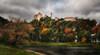 Blick auf Burg Harburg (ellen-ow) Tags: bayern burgharburg burgen deutschland europa harburg herbst orte castle landscape landschaft fluss autumn sky himmel nikond5 architektur alt ort stadt