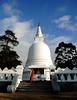 Buddhish Stupa (MelindaChan ^..^) Tags: srilanka 斯里蘭卡 pray buddhism buddha worship prayer child chanmelmel mel melinda melindachan temple life monk sweep sand stupa buddhist