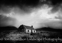 Old Bothy Dalballoch (tomrichardson931) Tags: offthebeatentrack landscape rugged mountains hillside outdoor dalballoch moors monochromephotography hills europe mainland wild scotland glen wildness moorland scenic alba desolate remote scottish bothy uk valley