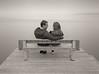 amor bajo la niebla (Luis Mª) Tags: blancoynegro niebla pareja escenasdelavida afiiae