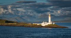 Lismore lighthouse (Explored) (Premysl Fojtu) Tags: lismore lighthouse architecture building scotland landscape west coast seascape clouds mountains dslr canon