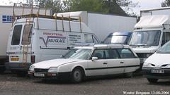 Citroën CX 25D Break 1987 (XBXG) Tags: 6928rc41 citroën cx 25d break 1987 citroëncx diesel gazole stationcar stationwagen station wagon estate vierzon 18 cher france frankrijk vintage old classic french car auto automobile voiture ancienne française outdoor vehicle