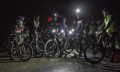 Night Riders - Roe Valley Cycling Club (john.purvis) Tags: green roevalleycyclingclub nightride cycling mountainbikes