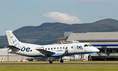G-LGNF SAAB 340, Edinburgh (wwshack) Tags: edi egph edinburgh edinburghairport flybe loganair saab340 scotland turnhouse glgnf
