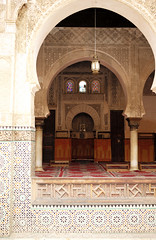 L1000609 (H Sinica) Tags: morocco 摩洛哥 fez fes 非斯 medina medersa bouinania