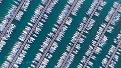 A Rich View (John. Blakey) Tags: ifttt 500px sea boat ocean vacation summer pattern boats fly peaceful relax escape harbor flying above drone gimbal dji phatom 4 pro civitavecchia lazio italy it