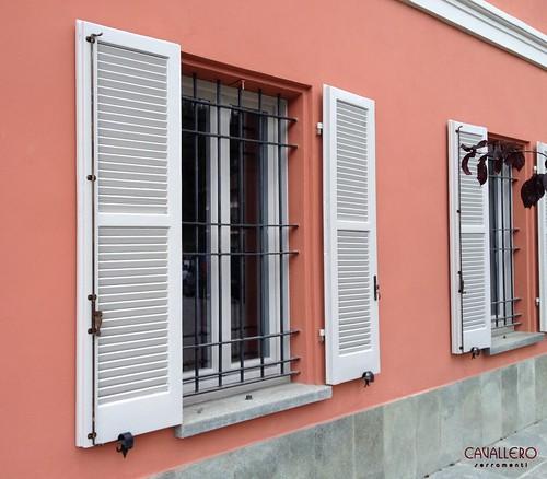 Comune di Ponti - dettaglio finestra e persiana
