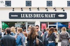 Audience @ Lukes Drug Mart Pre-Fest Party. Sled Island 2015. (Sled Island Photo) Tags: canada calgary outdoors photo audience alberta 2015 michaeltan sledisland lukesdrugmart