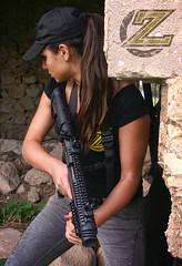 Zahal Tactical Women (Zahal Tactical Gear) Tags: girls fab rifle accessories defense glock zahal kpos