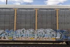 Reser (Revise_D) Tags: graffiti gr graff freight revised fr8 reser bsgk benching fr8heaven fr8aholics fr8bench benchingsteelgiants