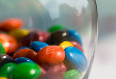 Half Full (Captured Heart) Tags: macro colorful candy sweets treat indulgent halffull candyjar indulge macromondays