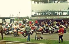 JP Trophy grid Donington April? 1981 (Neil M Cross) Tags: