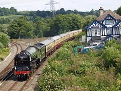 Tornado at Cowley Bridge, Exeter (philwakely) Tags: train railway trains steam exeter locomotive a1 railtour tornado railways steamtrains steamlocomotive lner uksteam torbayexpress 60163 cowleybridge lnera1