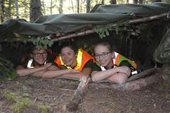 CCO-GW-2015-4019_105 (Atlantic Cadets Atlantique) Tags: smile woods friendship learning shelter survival teamwork
