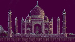 India - Uttar Pradesh - Agra - Taj Mahal - 12d (asienman) Tags: india agra tajmahal asienmanphotography mausoleum tomb mughalarchitecture uttarpradesh unescoworldheritagesite muslimart