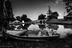 pomposa (paolotrapella) Tags: pomposa bianco nero bw barca boat italia