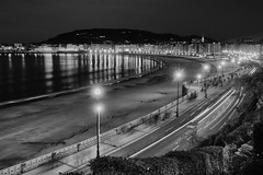 Donostia in Autumn (Ortzi Omeaka) Tags: diciembre donosti donostia laconcha night ondarreta otoo playa rx100m3 sansebastian sonyrx100m3 euskadi espaa es