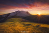 Anboto (Mimadeo) Tags: urkiola mountain mountainrange anboto amboto peak peaks mountains rock rocky sunrise sunset golden basquecountry paisvasco euskadi bizkaia sharp urkiolamendi morning landscape sun sunstar