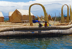 Wyspy Uros - wyspa Purimita | Uros Islands - isola Purimita