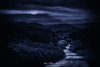 Caminos de penumbra (Mimadeo) Tags: path mountain night road countryside moonlight outdoor sky travel light rural moon tree hill dark forest blue scenery hillside grass valley nature landscape