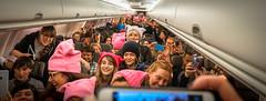 2017.01.20 Alaska Air Flight 6 in Pink LAX-DCA 00047