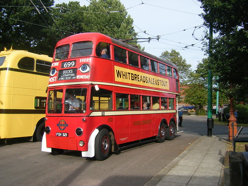London Transport trolleybus No. 1521 at EATM