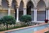 Real Alcazar (hans pohl) Tags: espagne andalousie séville architecture arches eau water arbres trees faïences azujelos tiles alcazar