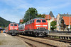 BR218 DB - IMMENSTADT (Giovanni Grasso 71) Tags: immenstadt allgäu kbs970 allgäubahn nikon d700 giovanni grasso br218 lindau monaco kempten locomotiva diesel idraulica