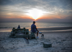 A Man and his Dog (Daveyal_photostream) Tags: nikon nikor nature nightphotography nightshot newjersey sunset sunsetting sunlight sun ocean shore serene sea seascape seagull beautiful beauty meandmygear mygearandme mycamerabag motion movement man dog sand sky clouds shoreline water outdoor landscape waterscape seaside beach surf waves calm serinty love reflection sillouhette resting soniagallery silhouette