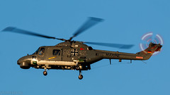 83+25 (ETMN-PICTURES) Tags: 8325 etmn lynxmk88a nordholz planespotting sonnenlicht hubschrauber mfg5 tamronsp150600mmf563di canoneos70d lynx helicopter military navy war aircraft marine nato pilot weapon camouflage agusta westland rotor vehicle flight hover british