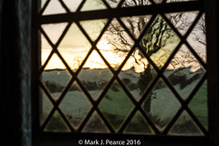362 of 366 - Misty sunrise through the window. (Mark J Pearce) Tags: 366 3662016 366project 366the2016edition