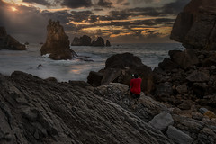 Underworld photographer (Marce Alvarez.) Tags: nikon nikkor1635 cantabria cantabrico costaquebrada landscape liencres locuos losurros marcealvarez naturaleza paisaje mar costa sea