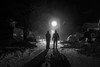 Snowy Silhouette (Evan's Life Through The Lens) Tags: camera sony a7rii lens glass fun amazing friends adventure week blackandwhite bland white contrast dark long exposure night beautiful smooth storm snow blizzard