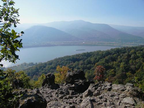 Párás látkép a Rigó-hegyről