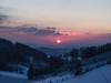 Sunset (jonasschmidt1909) Tags: sunset red winter snow cold landscape olympus omd em10 sauerland germany wonderland