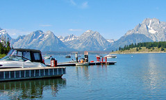 Colter Bay Marina, Jackson Lake, Grand Teton 2011 (inkknife_2000 (7.5 million views +)) Tags: grandteton wyoming lakes boats peaks jacksonlake colterbay bearisland mountains craigs dgrahamphoto usa landscape