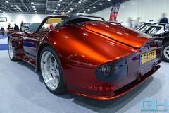 Marcos Mantis Spyder F14 GTS GH5_5359 (Gary Harman) Tags: london classic car show excel gh gh4 gh5 gh6 gh7 gary harman cars nikon d800 photographer marcos mantis spyder 1997 standox red rocket f14gts