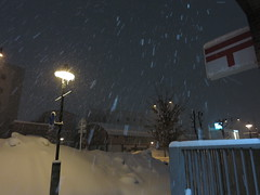 I applied for #C92 . (fukapon) Tags: tweet snow canon powershots110 弘前 hirosaki 青森 aomori