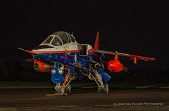 The red white and blue (Nimbus20) Tags: raf royal air force qinetiq epts empire pilot test school jet fast night apron cosford shropshire tle photo charter twoset red tanks wheels rolls royce wing raspberry ripple boscombe down dark lights
