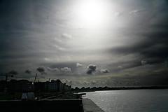 117 (Said Karlsson) Tags: sea sky sun clouds sweden said malm karlsson saidkarlsson