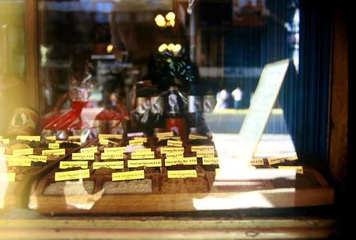 Spices for sale at El Gato Negro