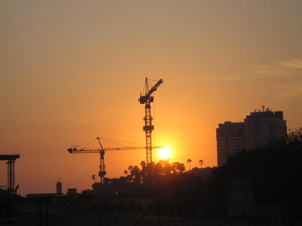 Bandra Reclamation construction of a new bridge