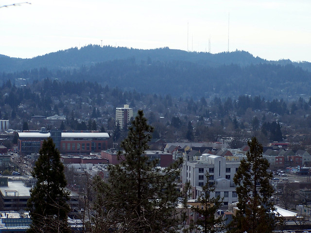 Looking over Eugene 7